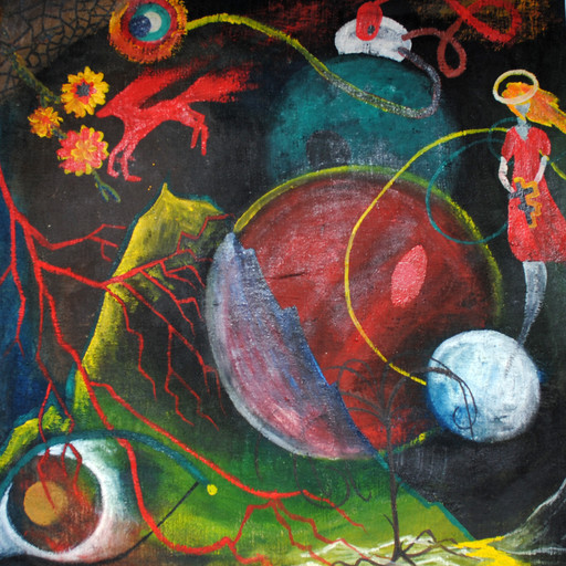 "Architect, painter | Obra, painting n/a, 2000: ""Universe"" 