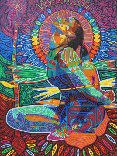 Conscious Expanding Yoga Art Paintings Untitled